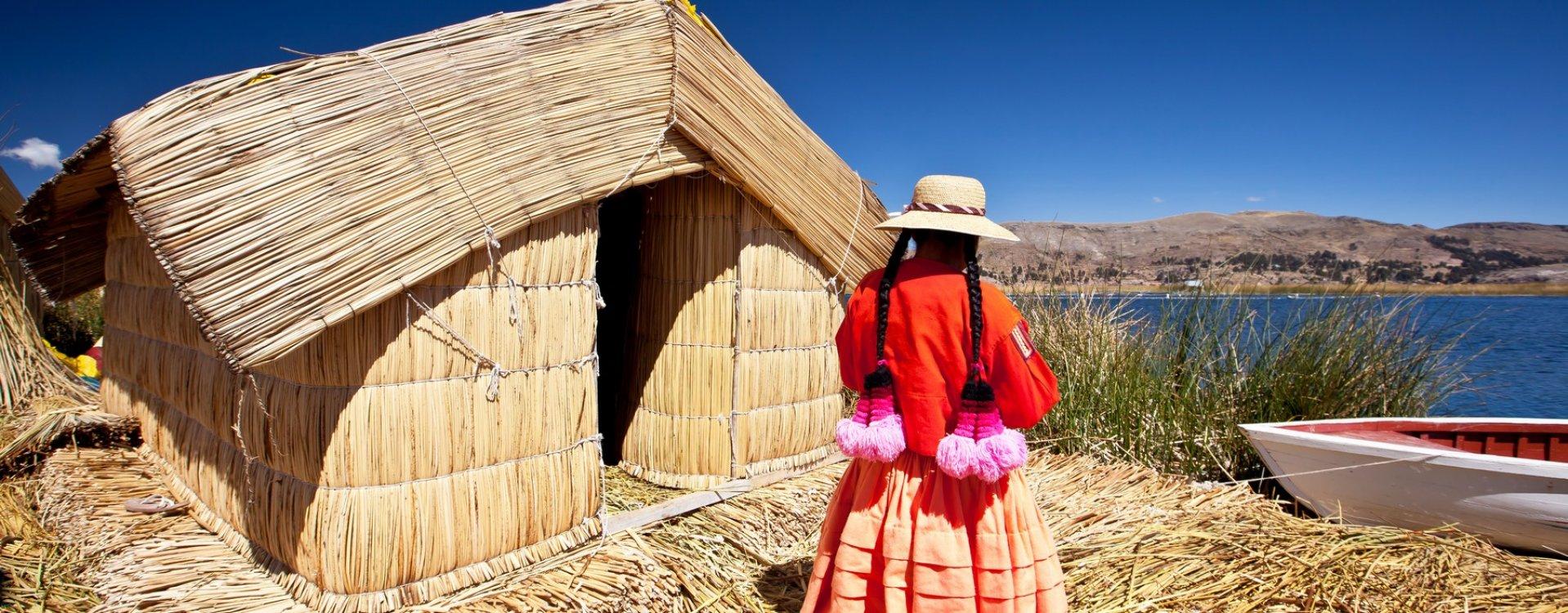 Drijvende Uros eilanden, Titicacameer