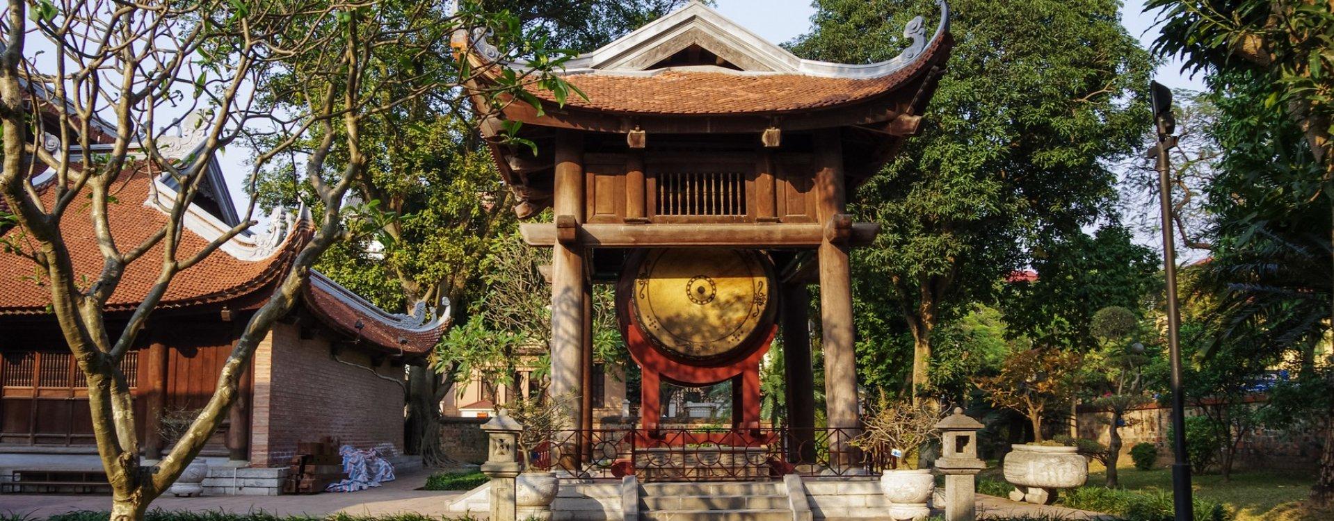 Tempel van de Literatuur in Hanoi