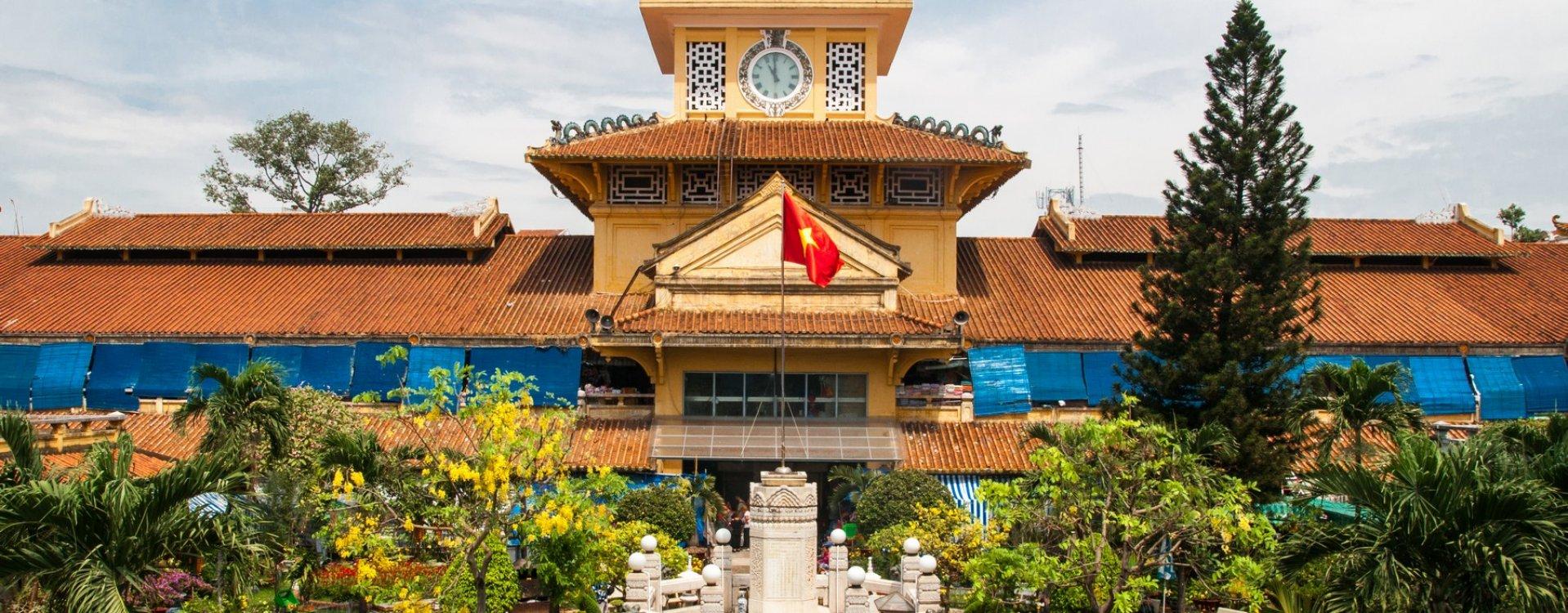 Binh Tay markt in Ho Chi Minh City