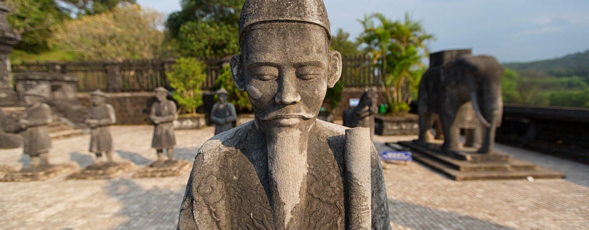 Khai Dinh graftombe in Hué