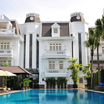 Vietnam, Ho Chi Minh City, Villa Song