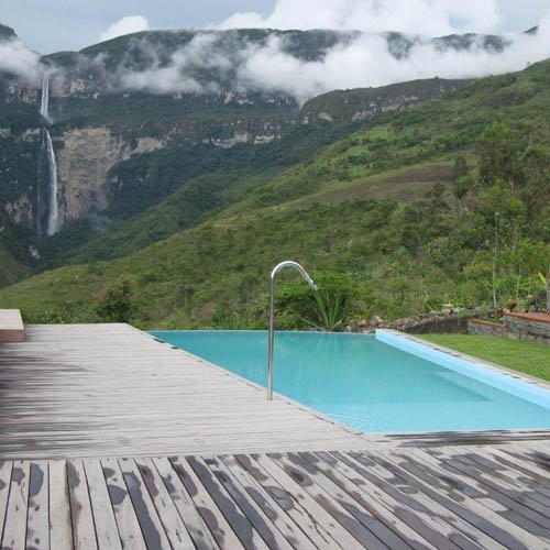 Peru, Chachapoyas, Gocta Andes Lodge