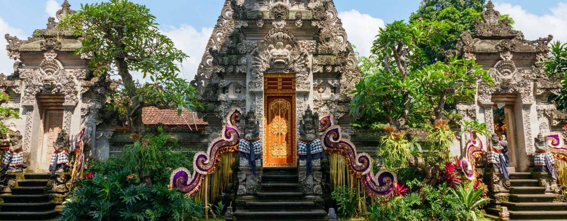 Hindoe tempel op Bali