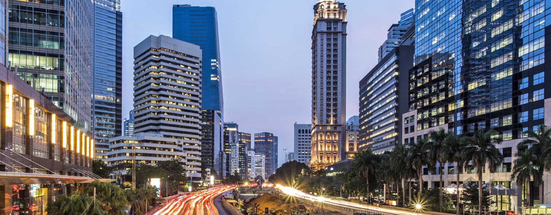 De hoofdstad Jakarta