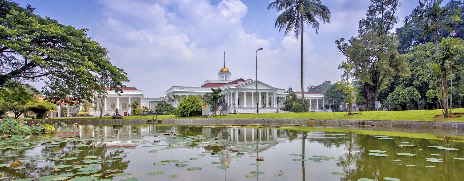 Presidentieel huis in Bogor