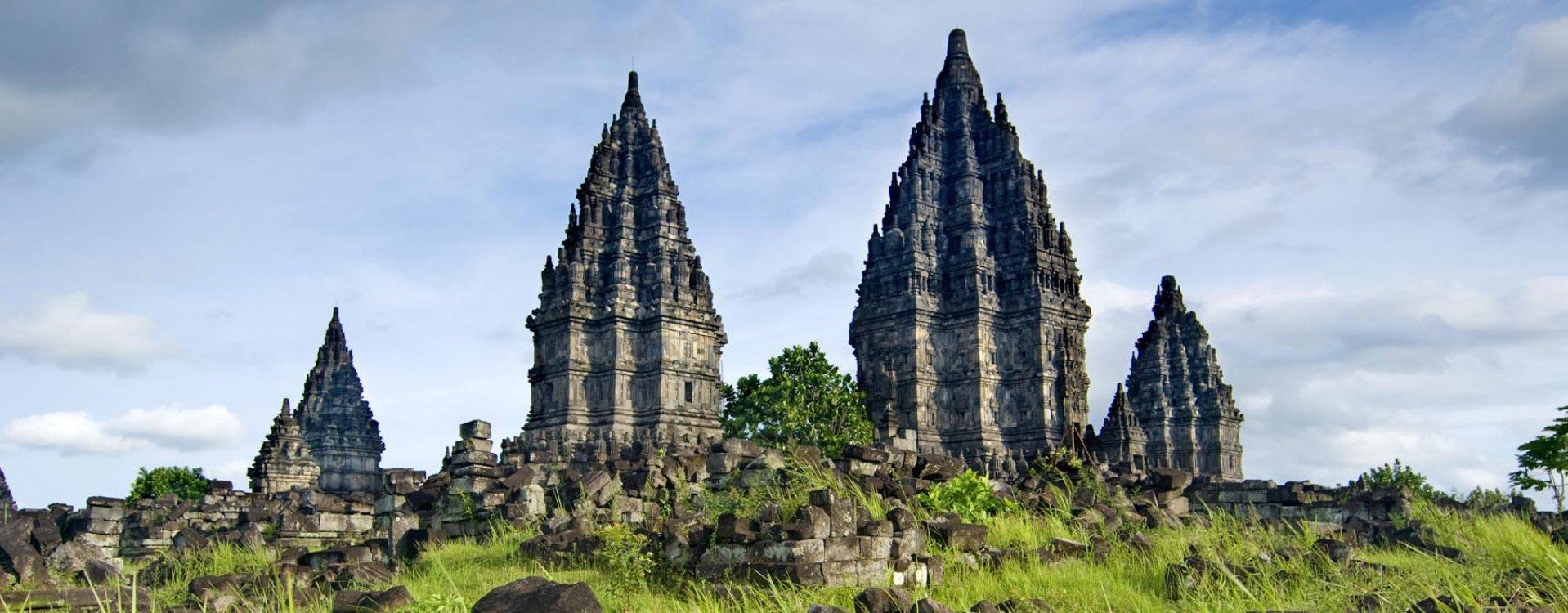 Hindoe tempel in Jogjakarta