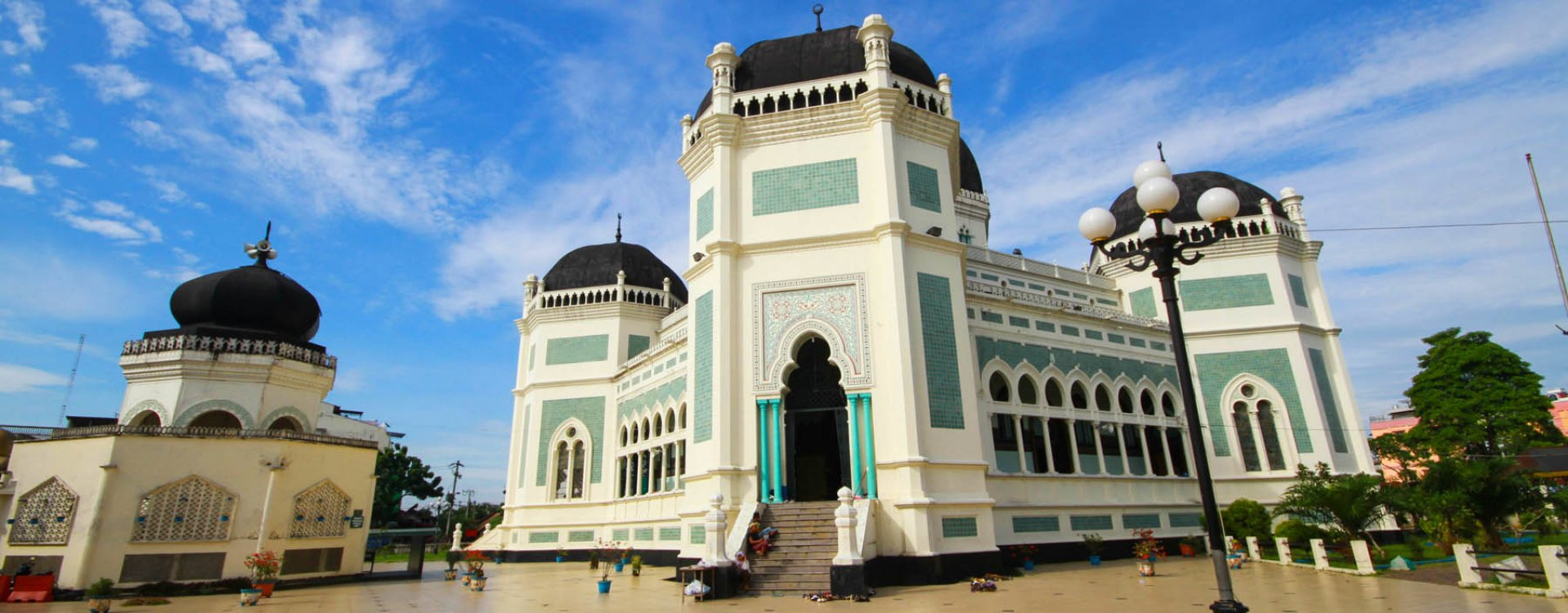 Grote moskee van Medan
