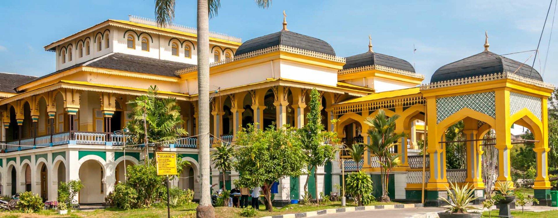 Maimun paleis, Medan, Sumatra