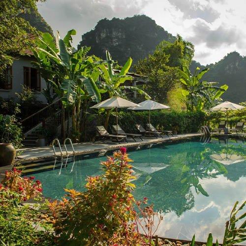 Vietnam, Ninh Binh, Tam Coc Garden Resort