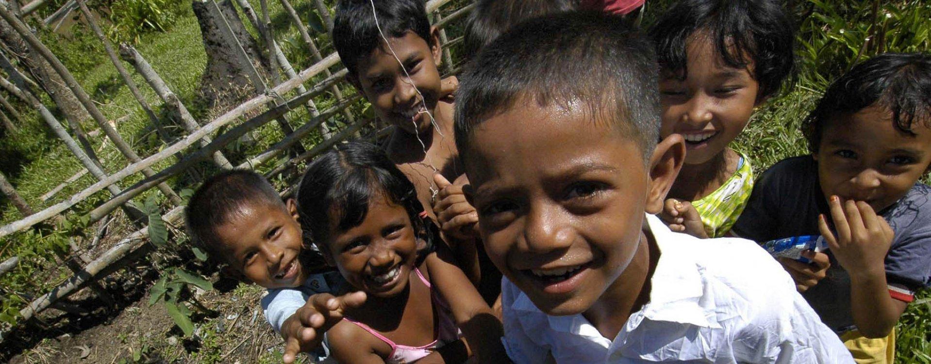 Kinderen in Jogjakarta