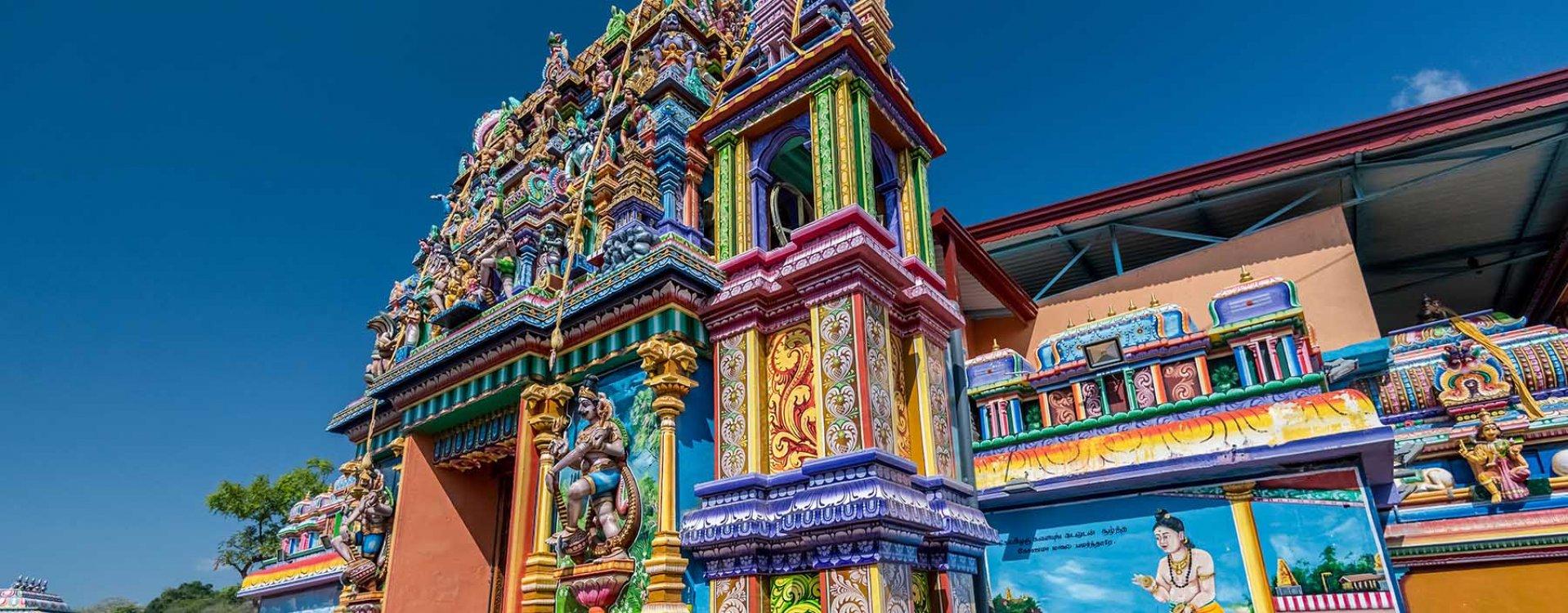 Tamil Hindu tempel in Trincomalee