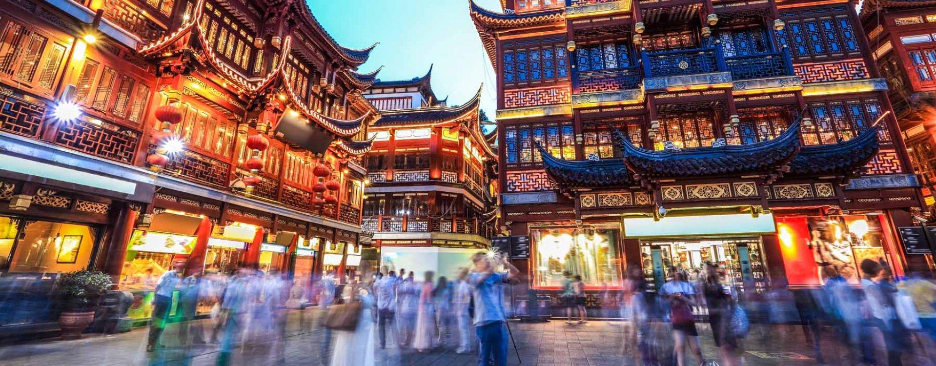 Shanghai, Yu tuinen