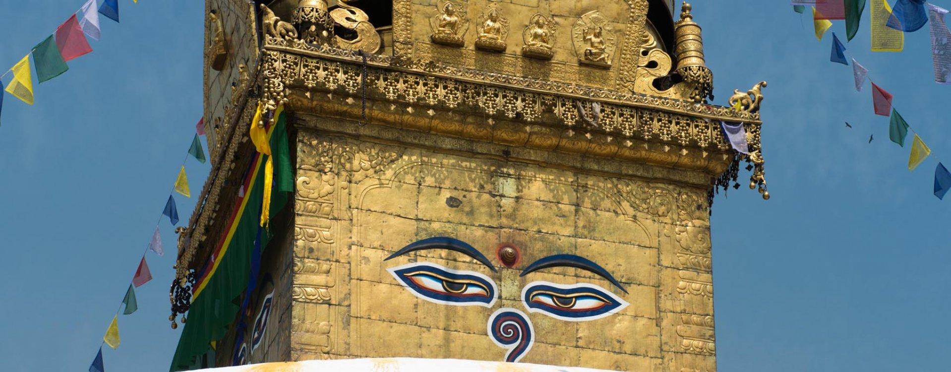 Kathmandu, Bodnath tempel