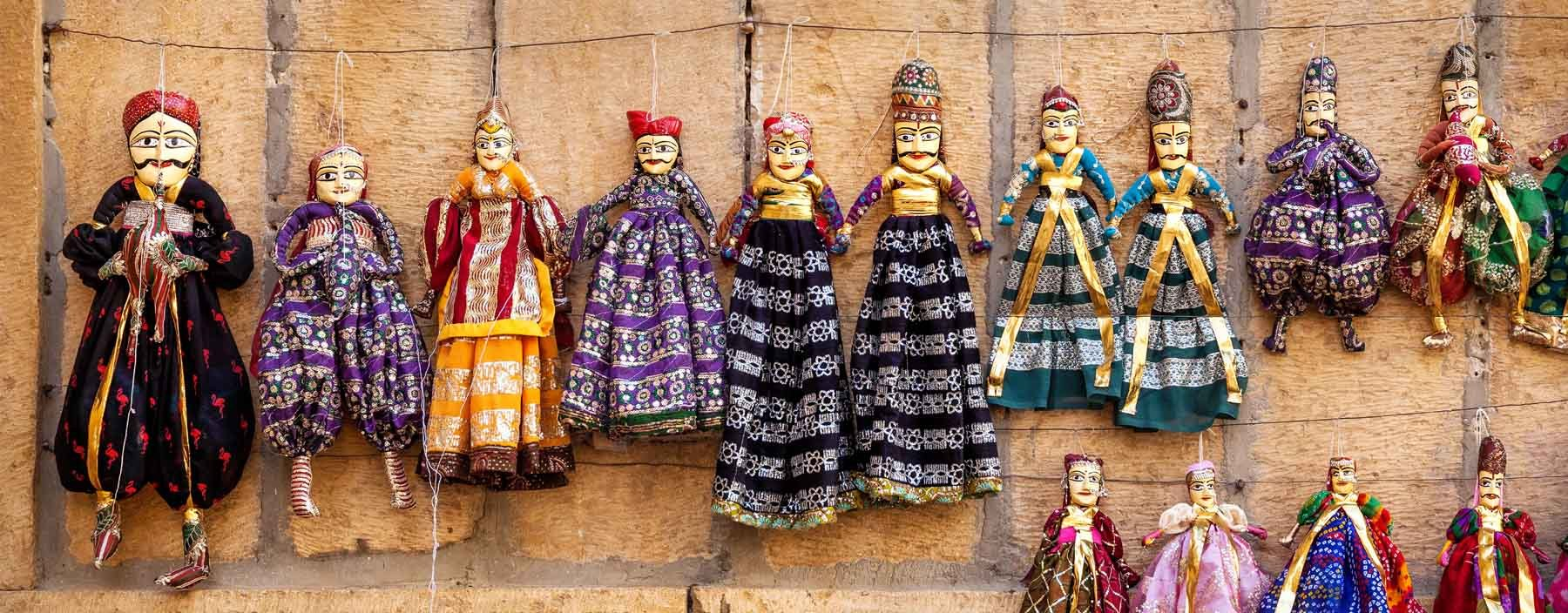 in, jaisalmer, puppets hanging in the shop.jpg