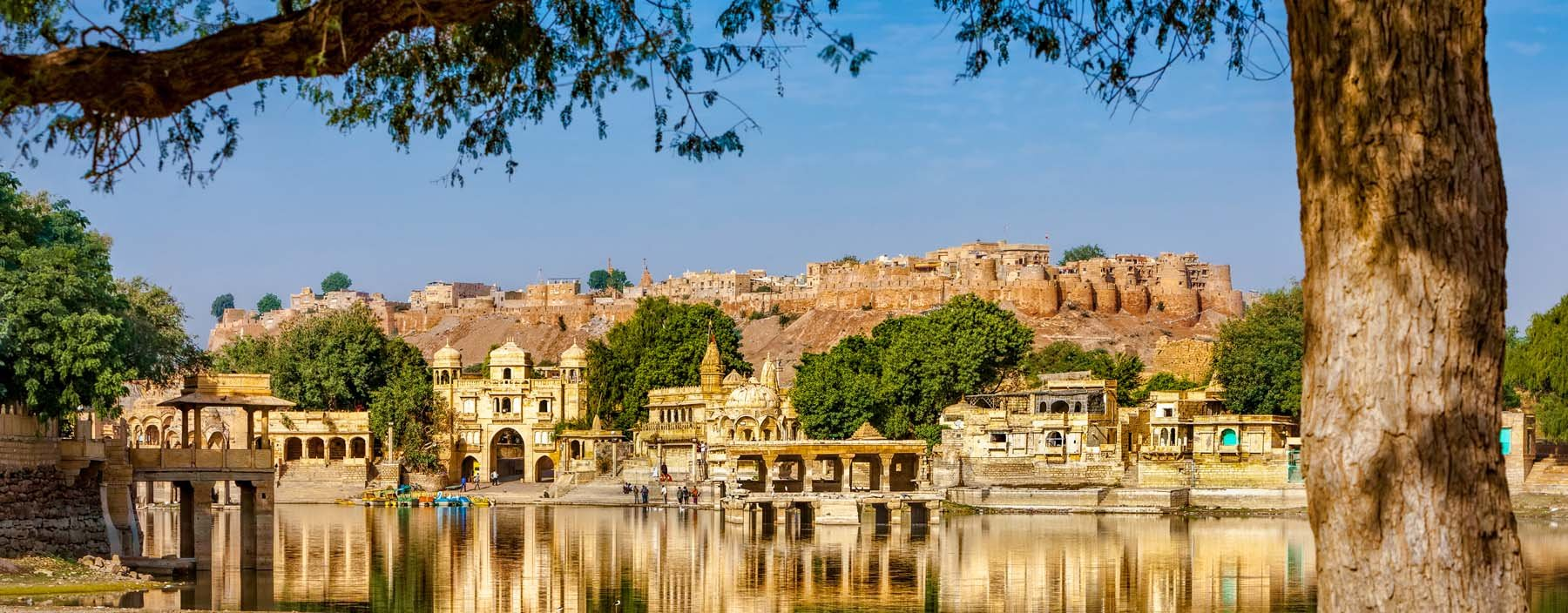 in, jaisalmer, temples and shrines around the lake gadisar jaisalmer.jpg