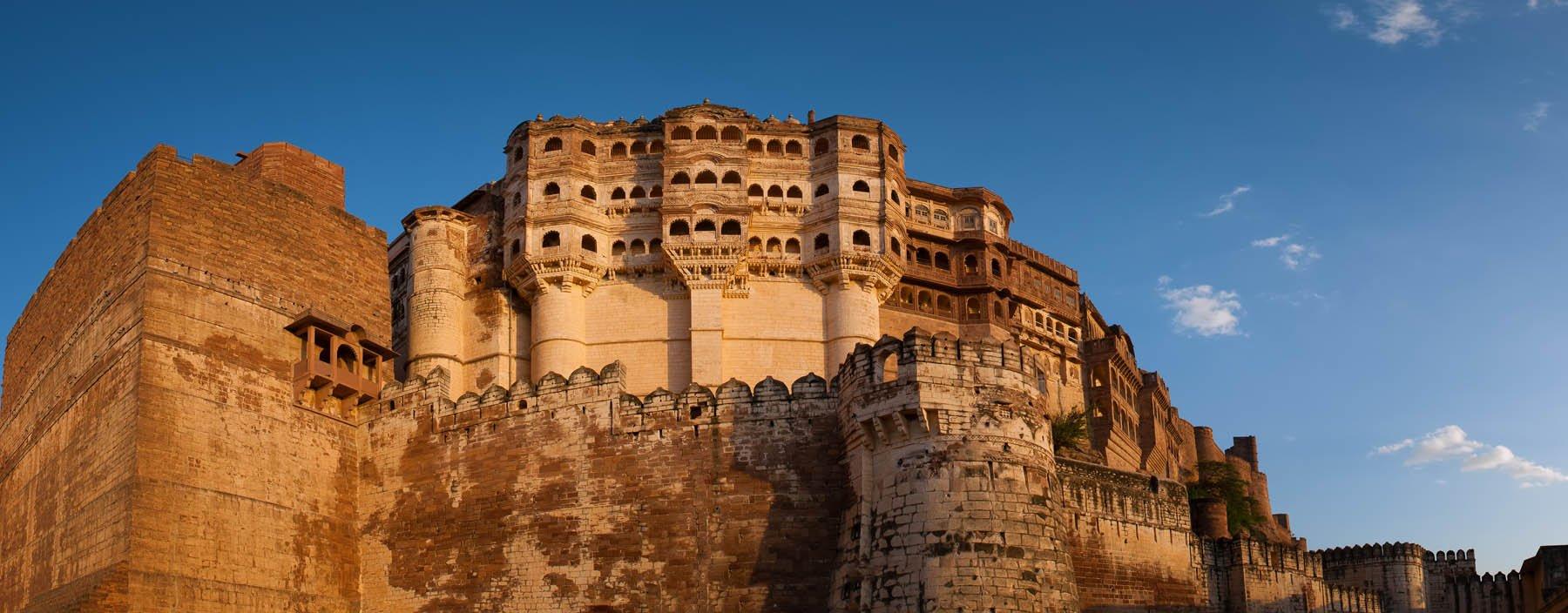 in, jodhpur, panoramic view of the mehrangarh fort.jpg