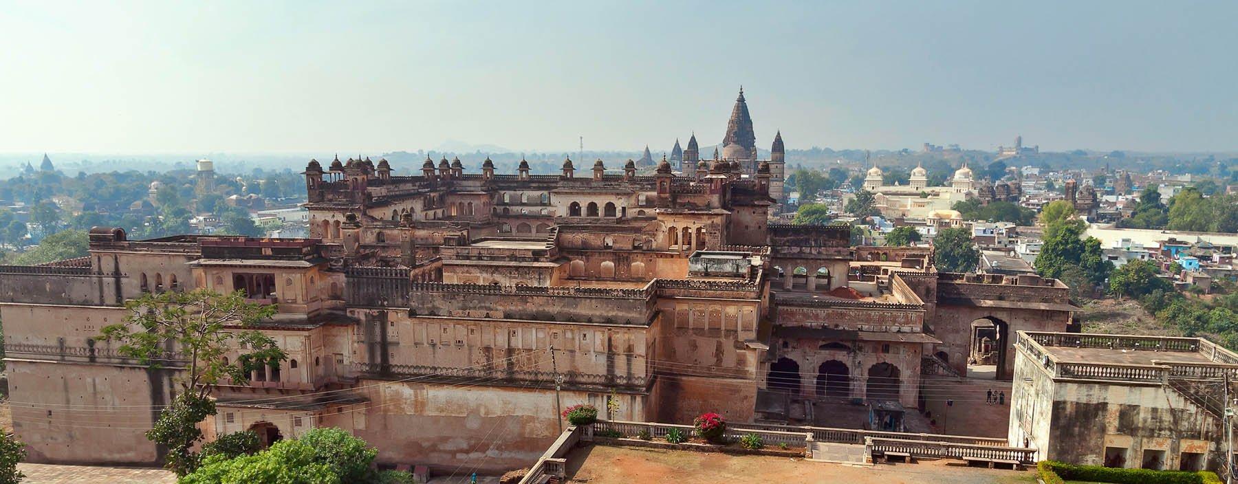 in, orchha, view of raj mahal palace.jpg