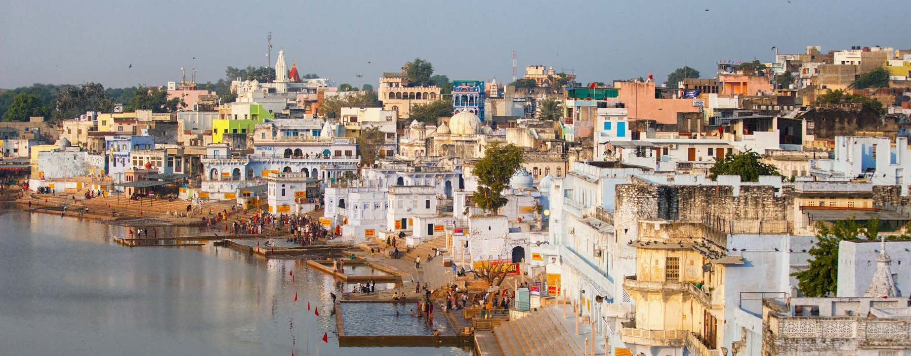 in, pushkar, city and the sacred lake..jpg