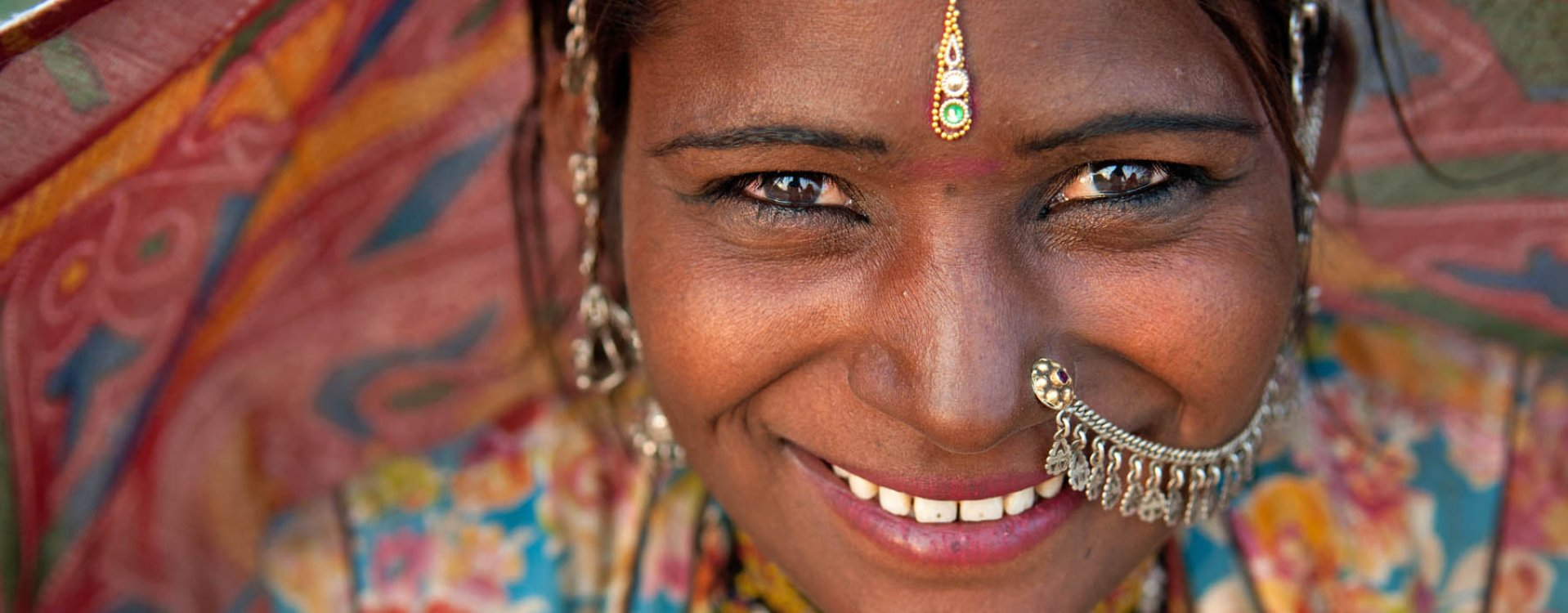 Vrouw uit Rajasthan