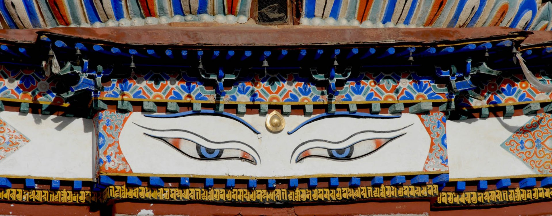 Tibet, ogen van Buddha, Shigatse