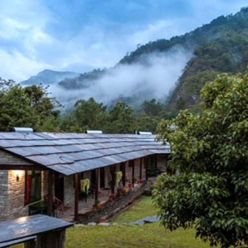 Sanctuary Lodge, Annapurna's, Nepal