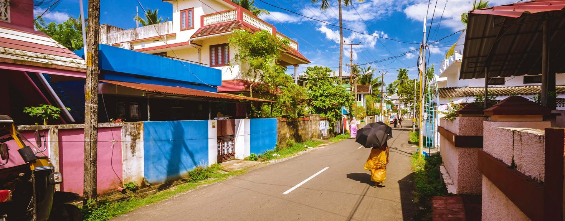 Cochin, straatbeeld