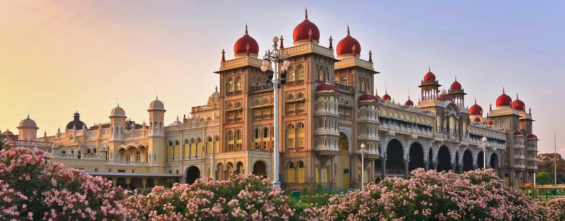 Mysore, koninklijk paleis