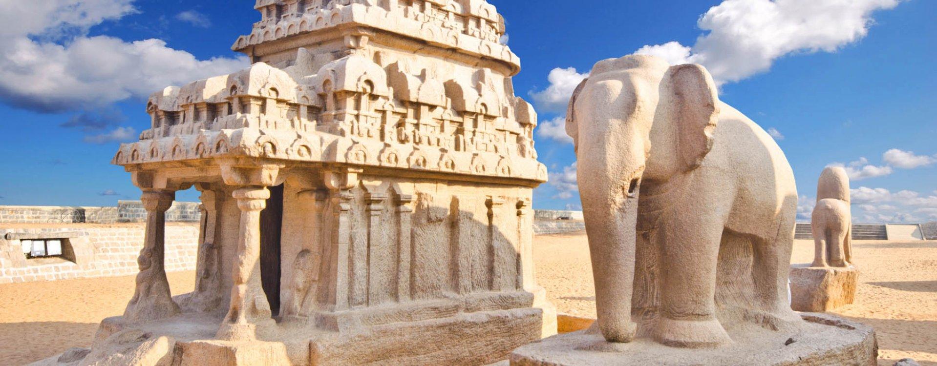Mahabalipuram, Kusttempel