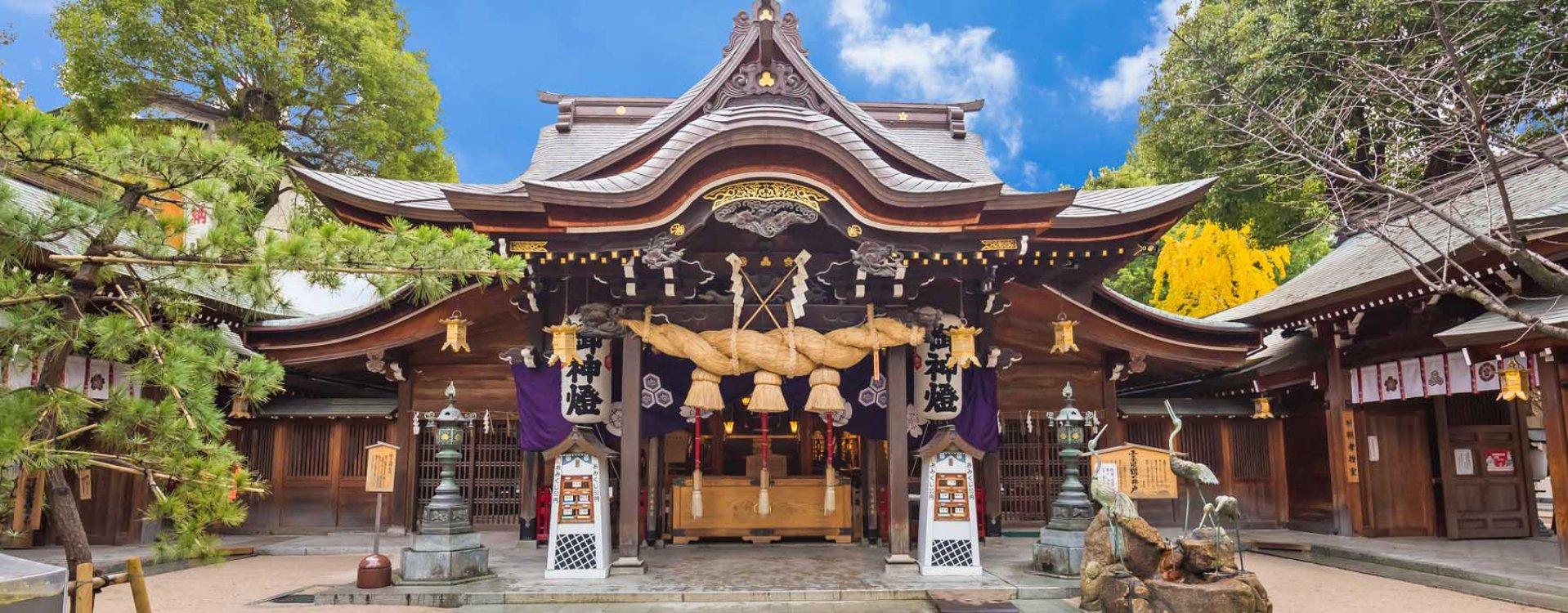 Tocho-ji tempel in Fukuoka