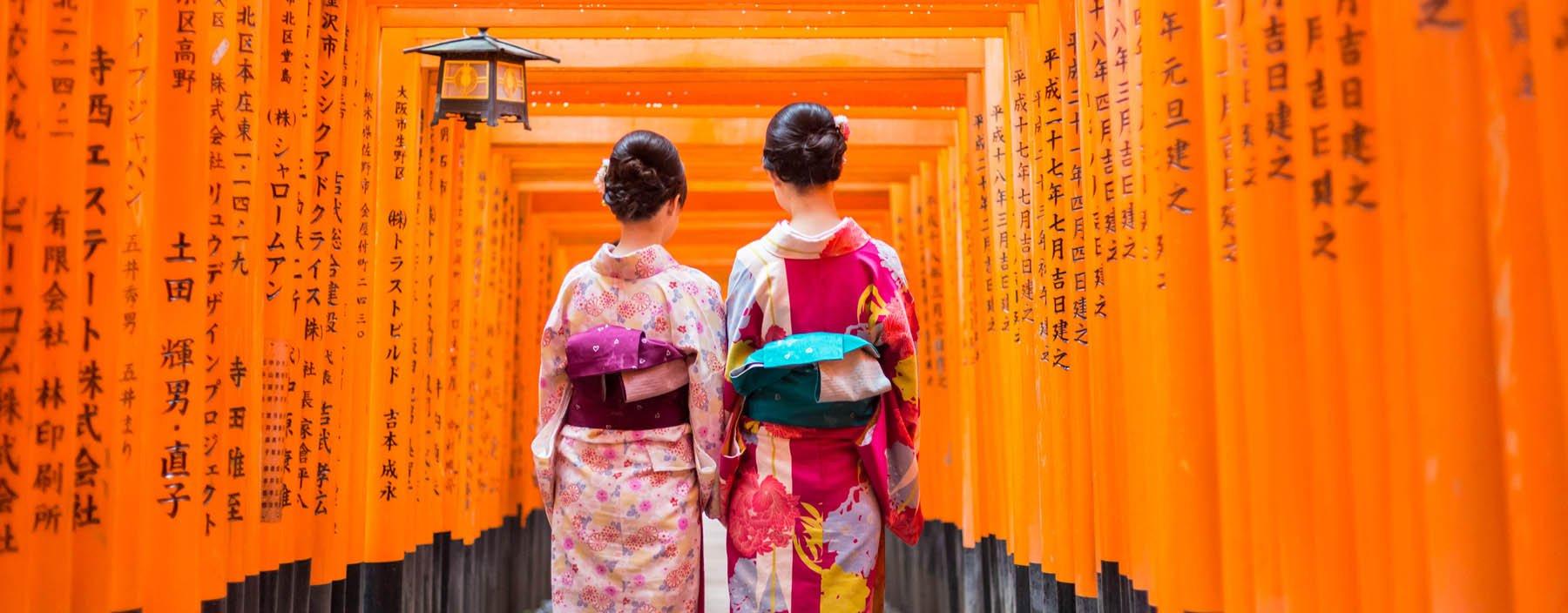 jp, kyoto, red wooden tori gate at fushimi inari shrine.jpg
