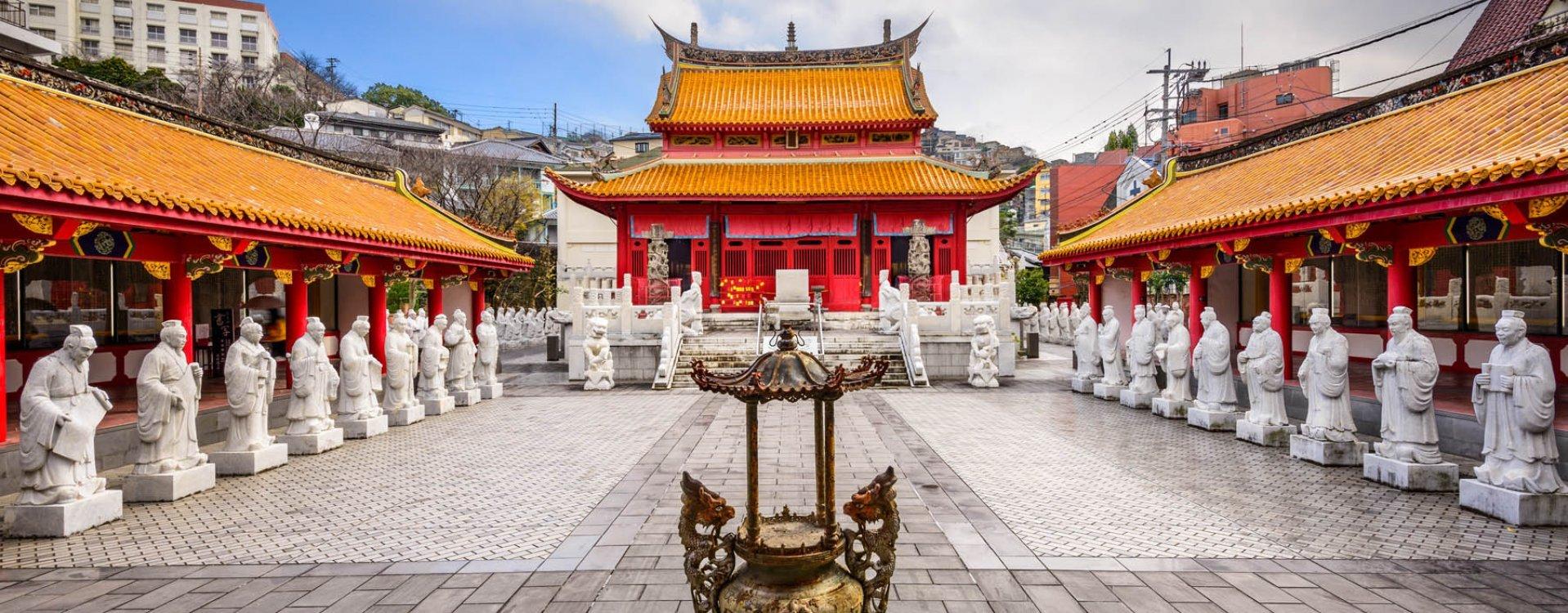 Confucius schrijn, Nagasaki