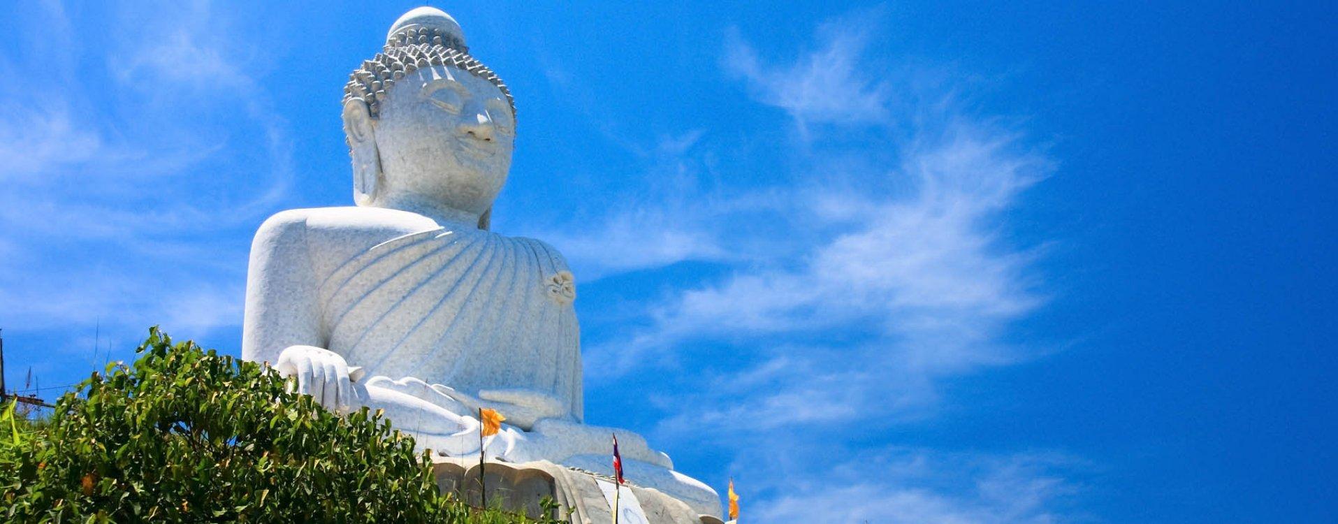 Grote Boeddha in Phuket