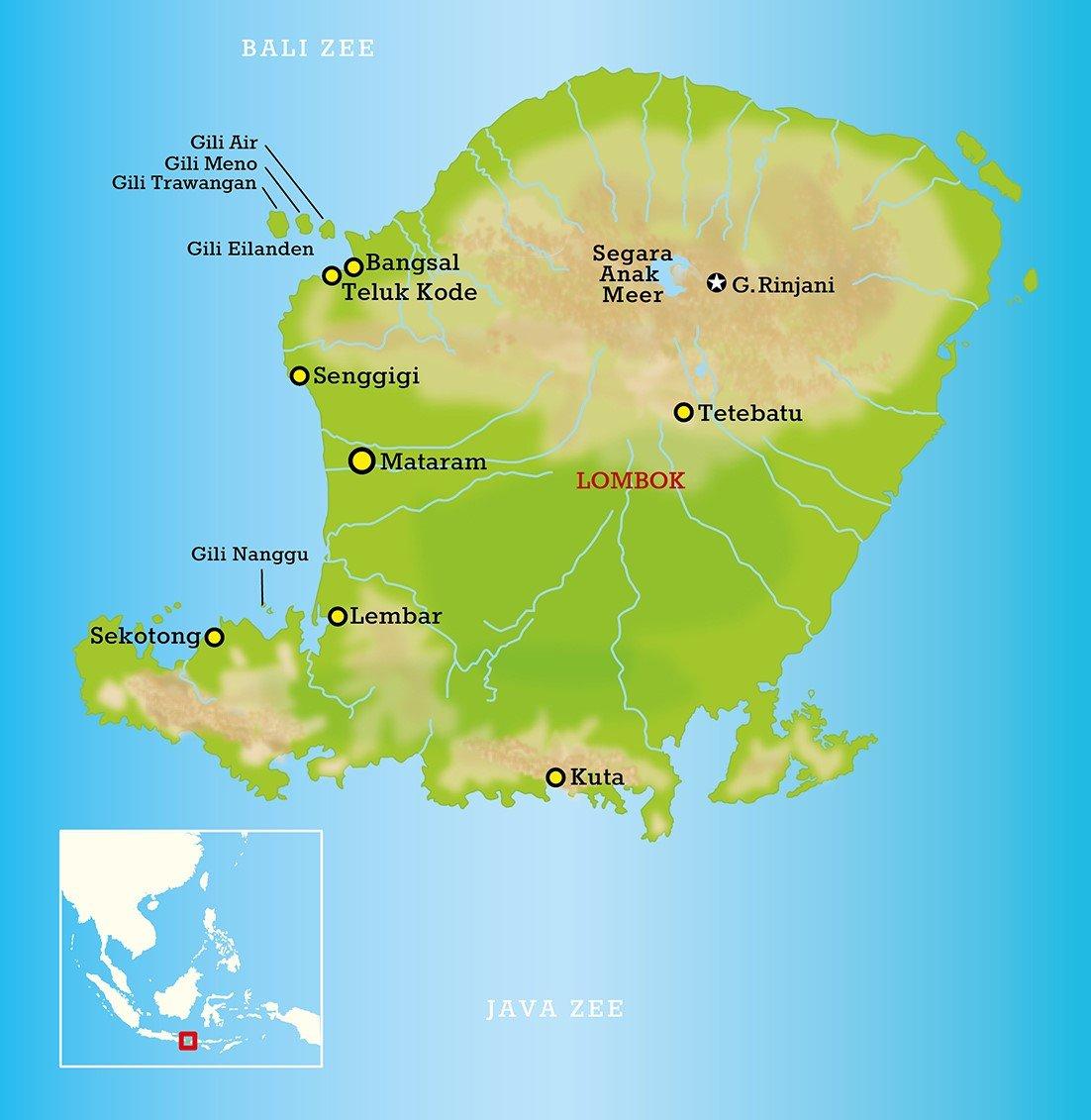 Lombok en Gili eilanden